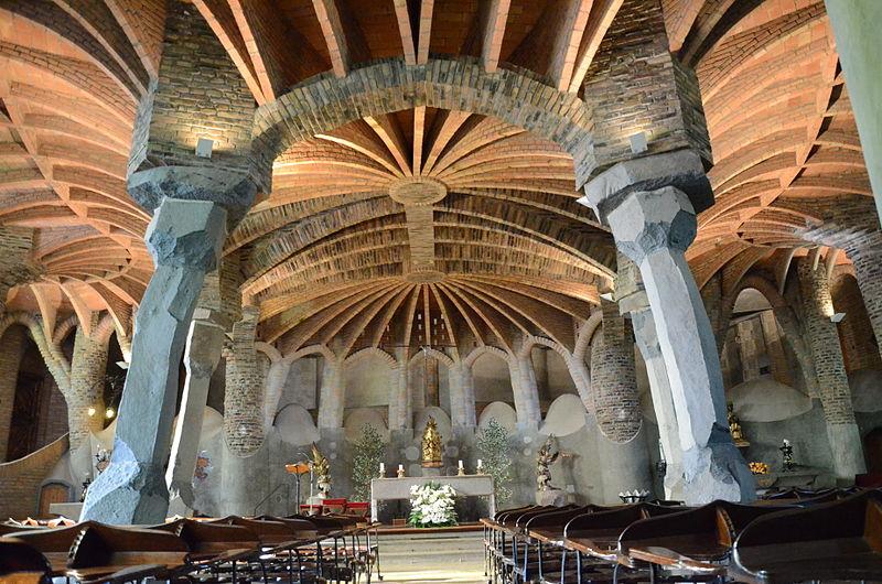 Colonia Güell - Viaje a Barcelona - Visitar Barcelona