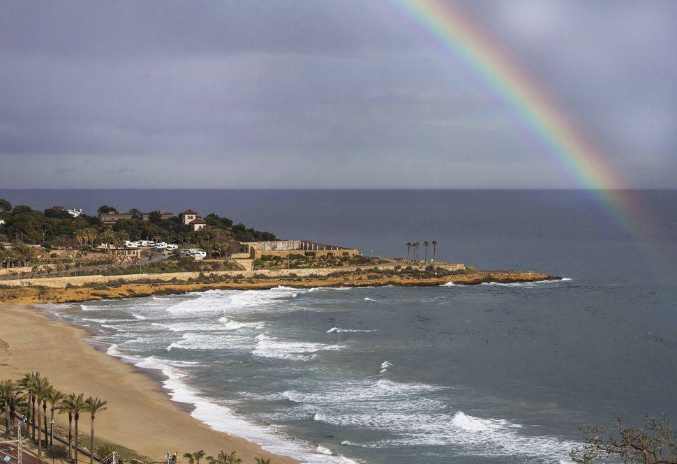 Playa del Miracle - mejores playas de Tarragona