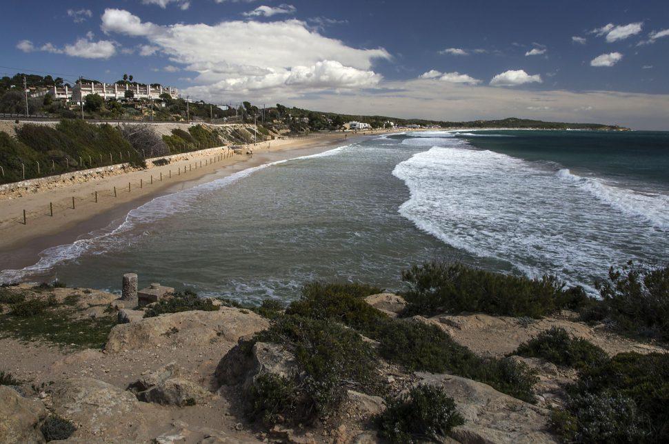 Playa Larga - mejores playas en Tarragona