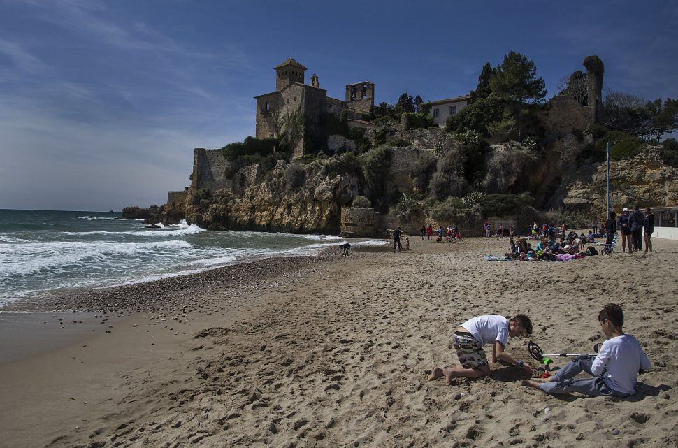 Playa de Tamarit en Tarragona
