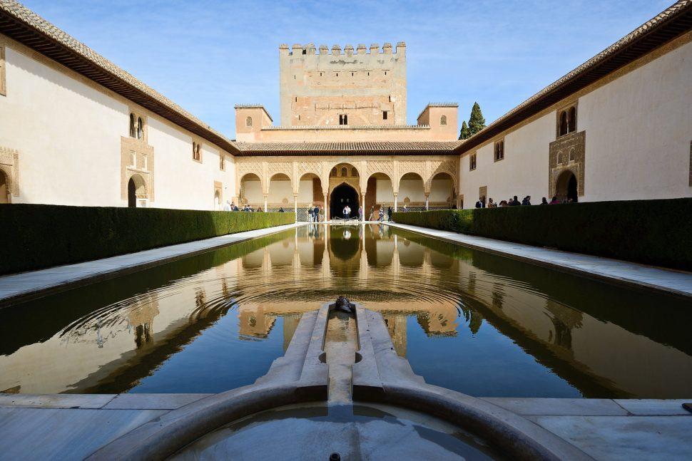 Patio de los Arrayanes - Granada Alhambra