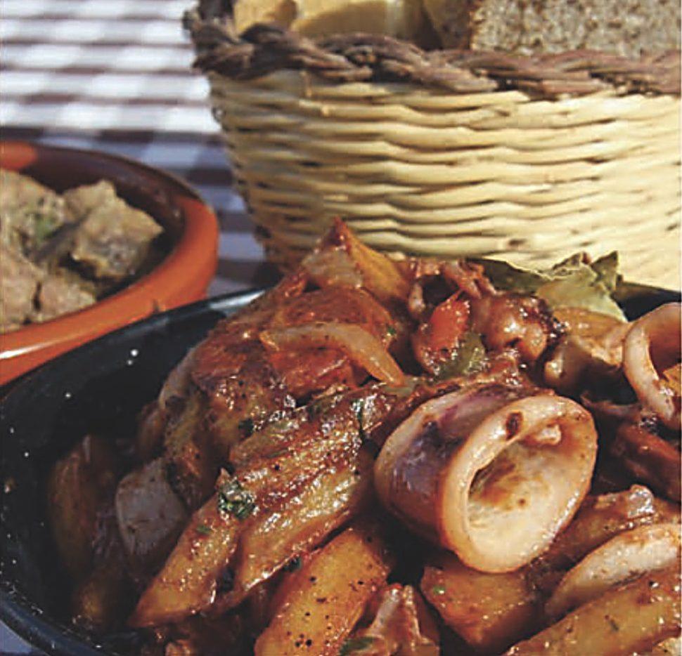 Calamars a la bruta - qué comer en Formentera