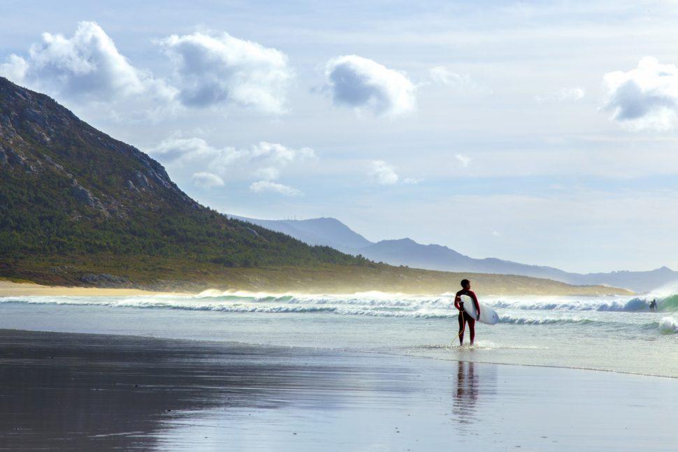 PLAYA DE LOURO – AREA MAIOR playas galicia surf